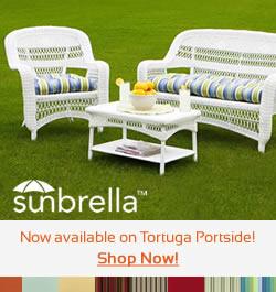 Sunbrella Fabrics Now Available on Tortuga Portside
