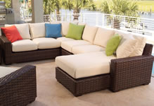 Lloyd Flanders Wicker Sectional Sets