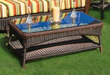 Wicker Coffee & End Tables