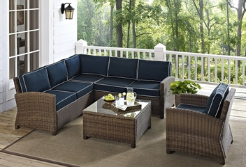 Crosley Furniture Sectional Sets