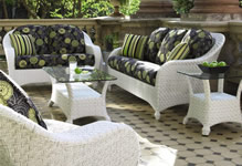 Wicker Conversation Sets