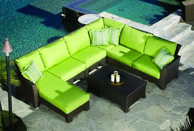 Sunset West Malibu Replacement Cushions