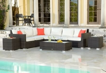 Source Outdoor Wicker Sectional Sets