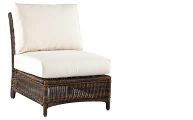 South Sea Rattan Sectional Pieces