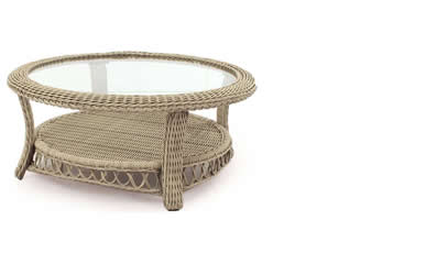 South Sea Rattan Coffee Tables