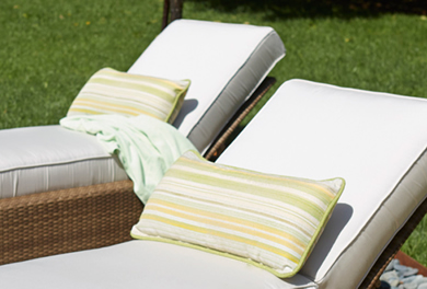 WhiteCraft by Woodard Throw Pillows and Planters