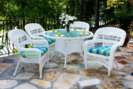 Surprising Outdoor Wicker Dining Sets Wicker Com Short Links Chair Design For Home Short Linksinfo