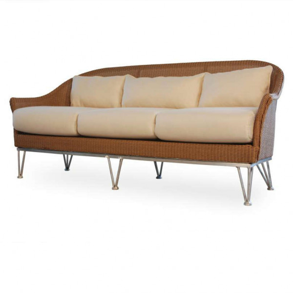 Lloyd Flanders Mod Wicker Sofa - Replacement Cushion