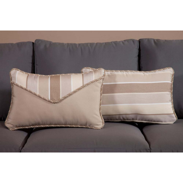 South Sea Rattan All Weather Milano Small Throw Pillow
