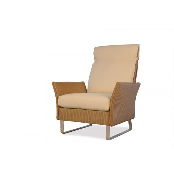 Lloyd Flanders Nova Highback Wicker Lounge Chair - Replacement Cushion