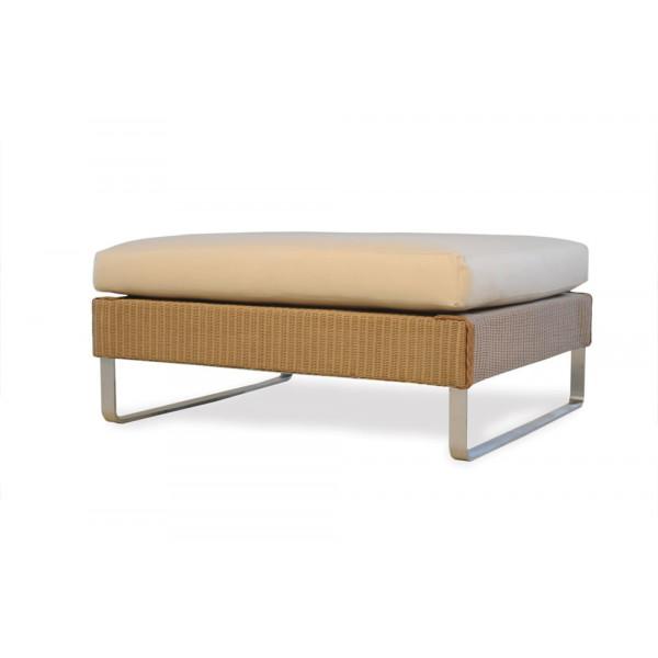 Lloyd Flanders Nova Large Wicker Ottoman - Replacement Cushion