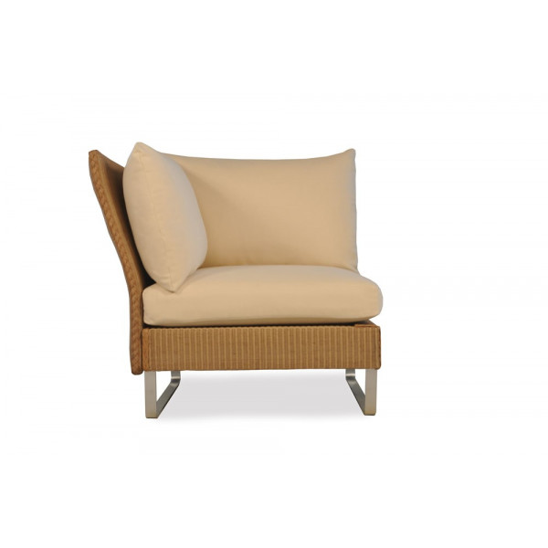 Lloyd Flanders Nova Left Arm Facing Wicker Lounge Chair - Replacement Cushion