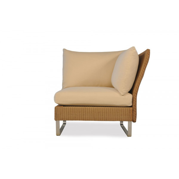 Lloyd Flanders Nova Right Arm Facing Wicker Lounge Chair - Replacement Cushion