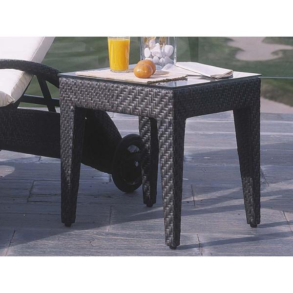 Hospitality Rattan Soho Wicker End Table