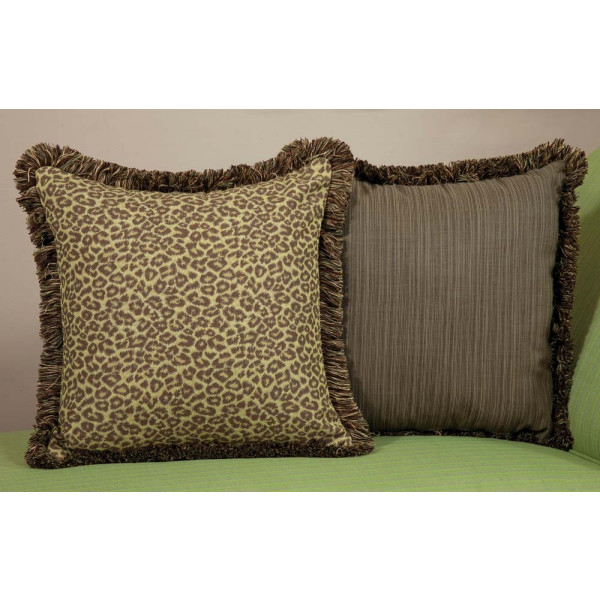 South Sea Rattan All Weather Wild Thing Large Throw Pillow