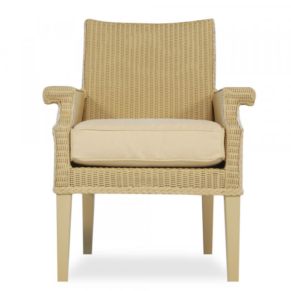 Lloyd Flanders Hamptons Wicker Dining Chair - Replacement Cushion