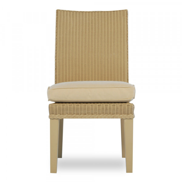 Lloyd Flanders Hamptons Armless Wicker Dining Chair - Replacement Cushion