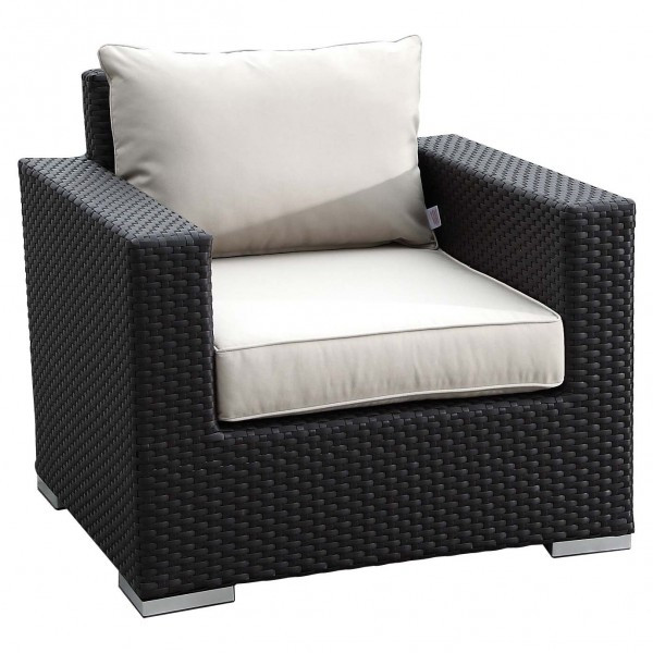 Sunset West Solana Wicker Lounge Chair - Replacement Cushions