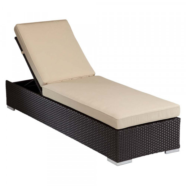 Sunset West Solana Adjustable Wicker Chaise Lounge