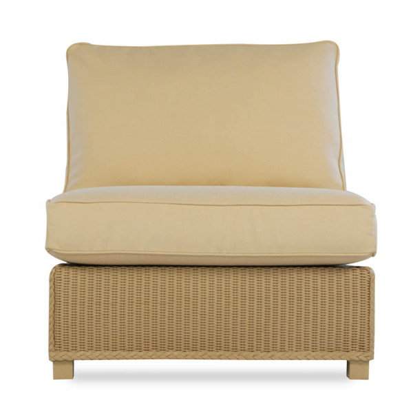 Lloyd Flanders Hamptons Armless Wicker Lounge Chair