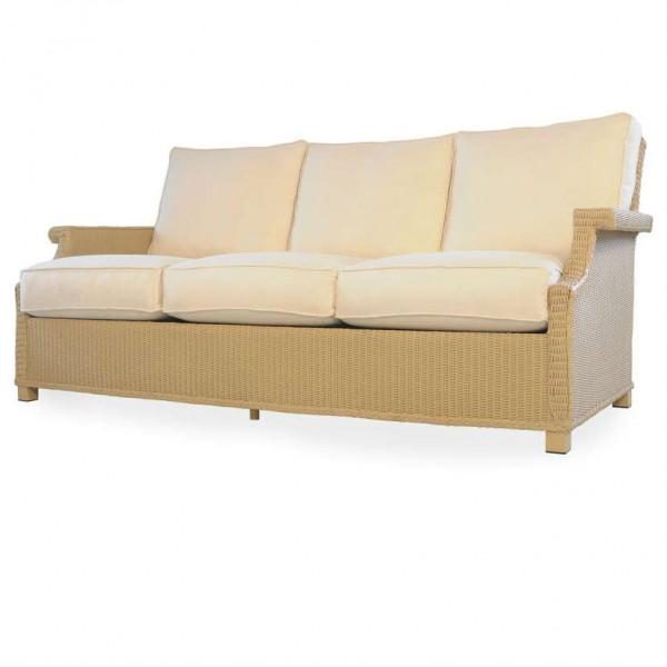 Lloyd Flanders Hamptons Wicker Sofa
