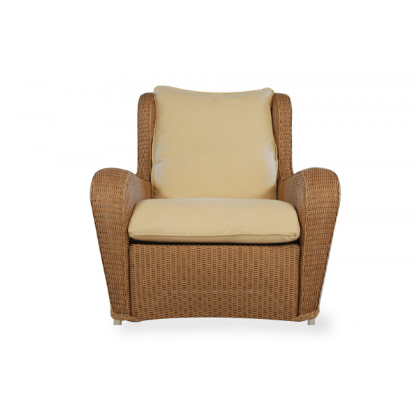 Lloyd Flanders Natchez Wicker Highback Lounge Chair - Replacement Cushion