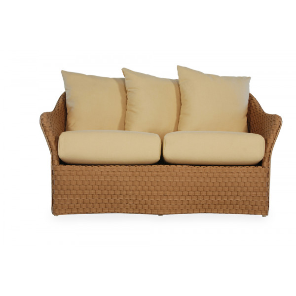Lloyd Flanders Rio Wicker Loveseat - Replacement Cushion