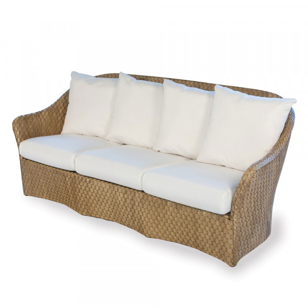 Lloyd Flanders Canyon Wicker Sofa with Contemporary Pillows - Replacement Cushion