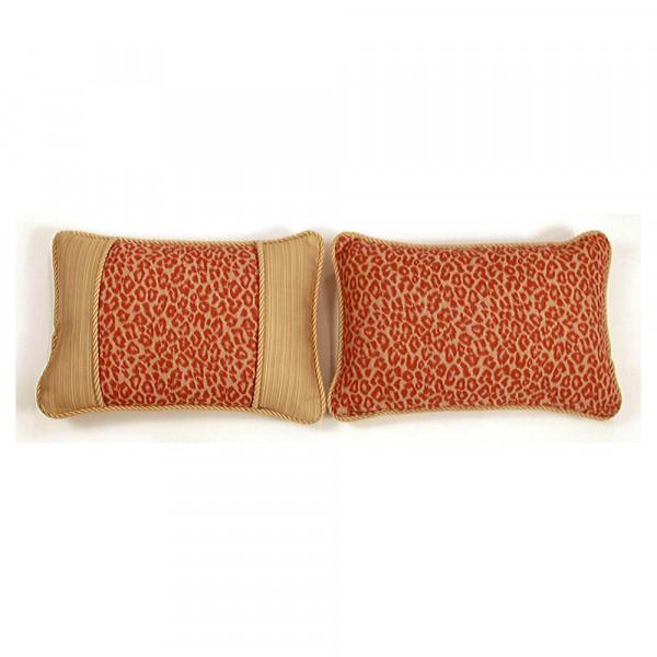 South Sea Rattan All Weather Mandarin Small Throw Pillow
