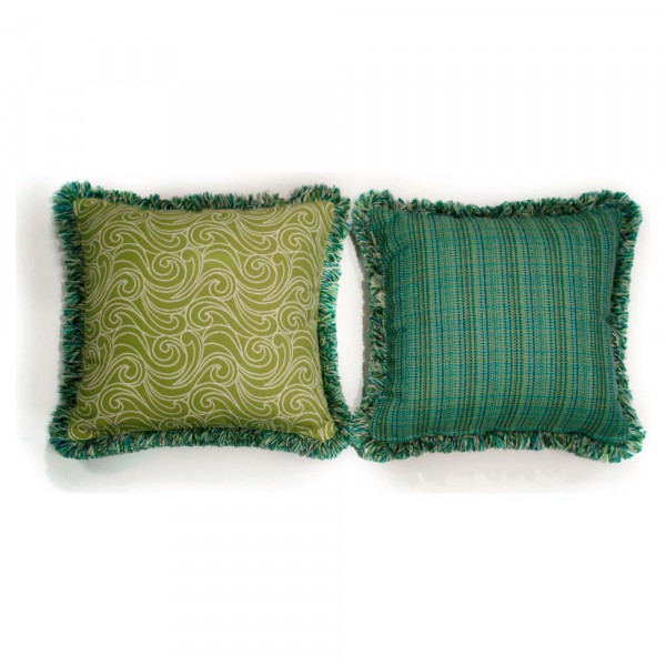 South Sea Rattan All Weather Aegean Large Throw Pillow