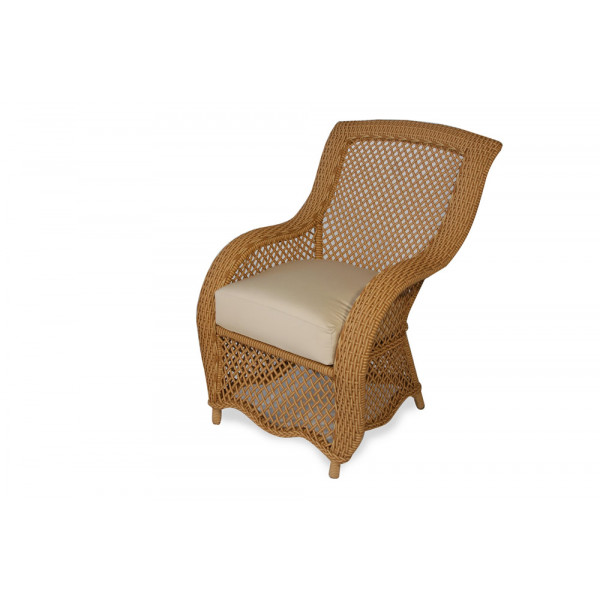 Lloyd Flanders Tropics Wicker Dining Chair - Replacement Cushion