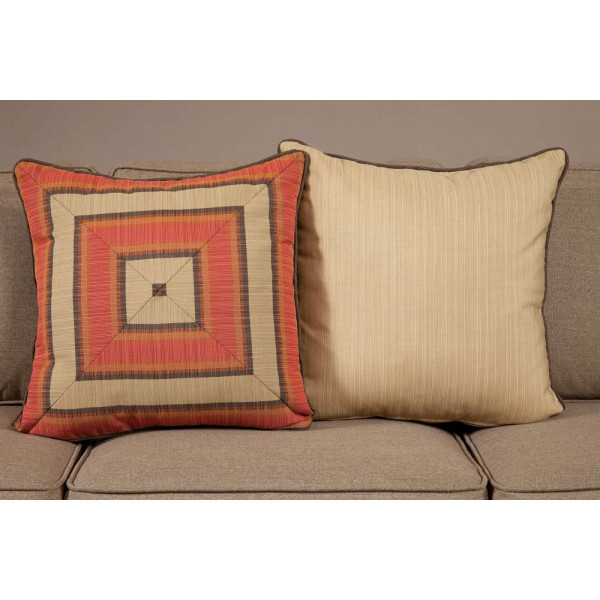 South Sea Rattan All Weather Dimone Large Throw Pillow