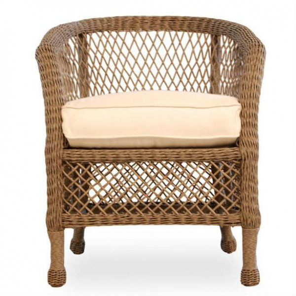 Lloyd Flanders Vineyard Wicker Dining Chair - Replacement Cushion