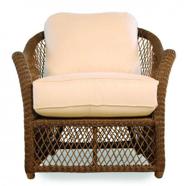 Lloyd Flanders Vineyard Wicker Lounge Chair - Replacement Cushion