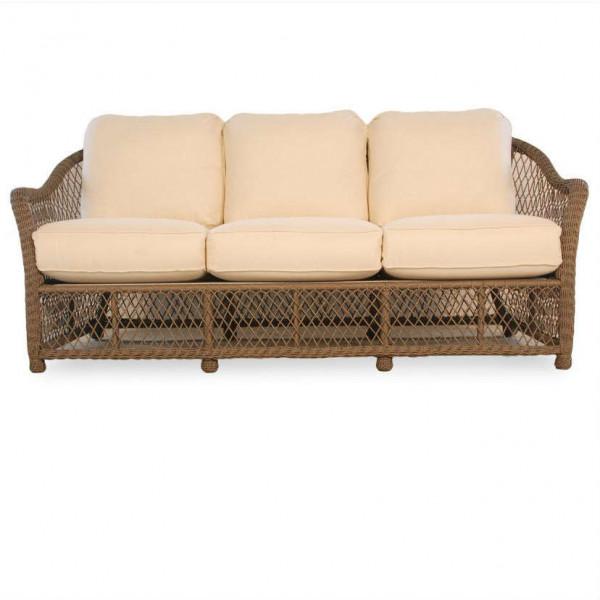 Lloyd Flanders Vineyard Wicker Sofa - Replacement Cushion