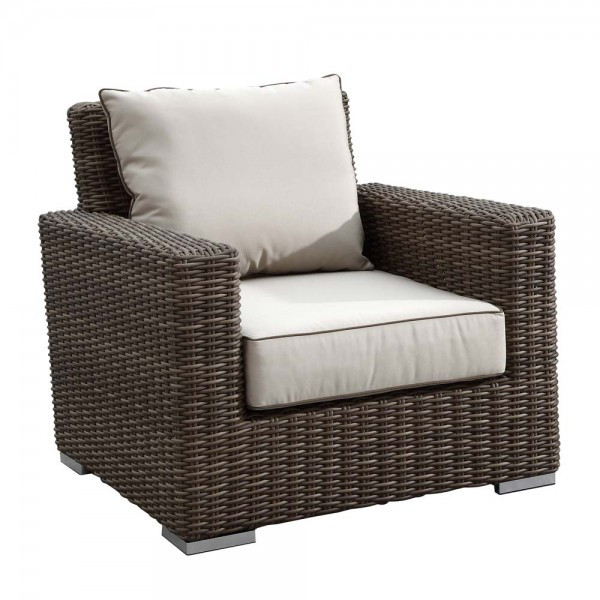 Sunset West Coronado Wicker Lounge Chair - Replacement Cushion