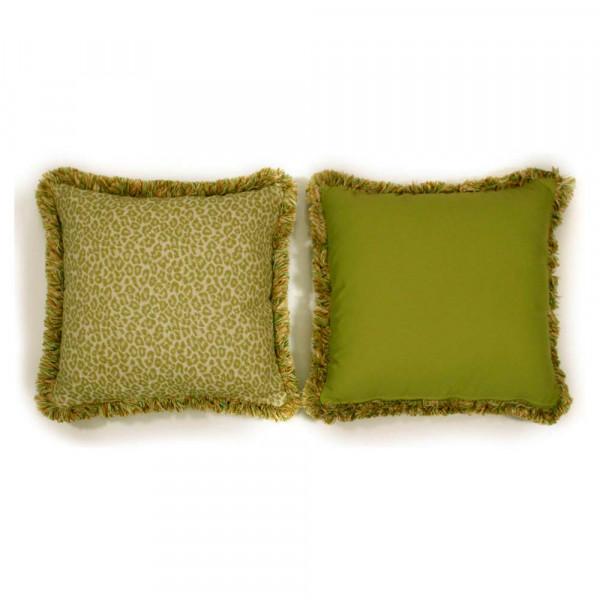 South Sea Rattan All Weather Geranium Large Throw Pillow