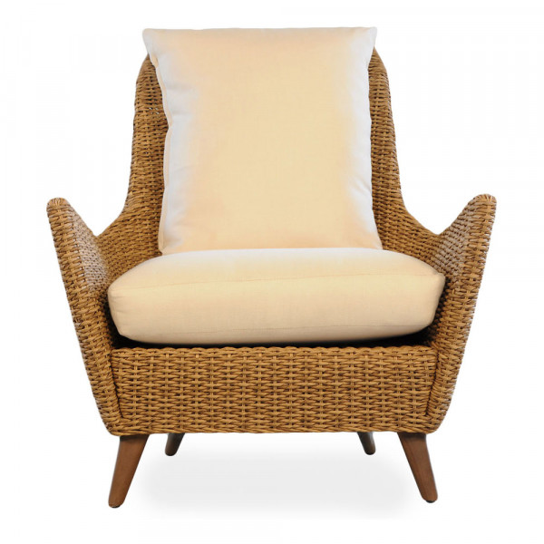 Lloyd Flanders Tobago Highback Wicker Lounge Chair