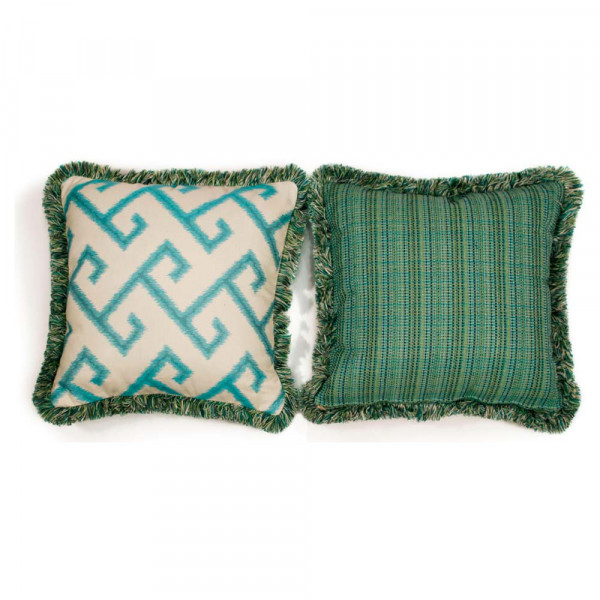 South Sea Rattan All Weather Calypso Large Throw Pillow