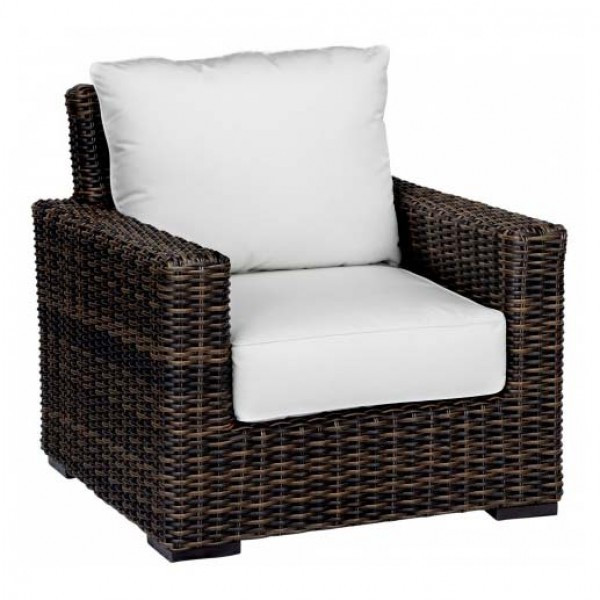 Sunset West Montecito Wicker Lounge Chair - Replacement Cushion
