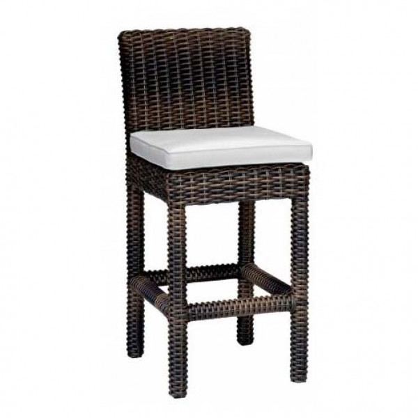 Sunset West Montecito Wicker Counter Chair