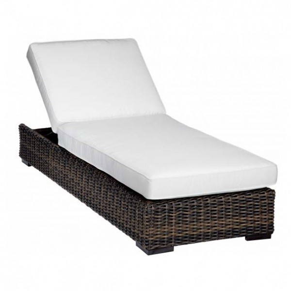 Sunset West Montecito Adjustable Wicker Chaise Lounge - Replacement Cushion
