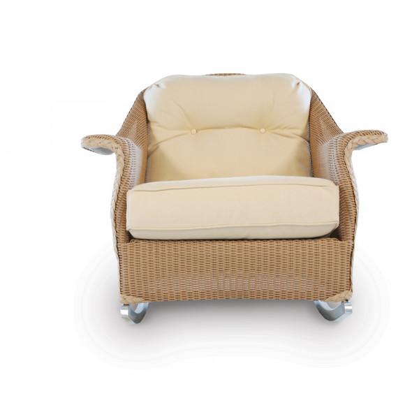 Lloyd Flanders Embassy Wicker Lounge Rocker - Replacement Cushion