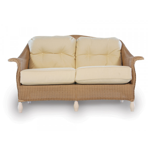 Lloyd Flanders Embassy Wicker Loveseat - Replacement Cushion
