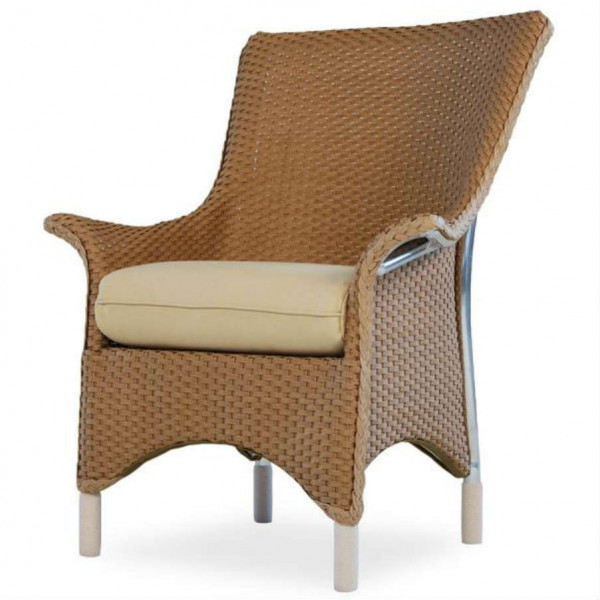 Lloyd Flanders Mandalay Wicker Dining Chair - Replacement Cushion