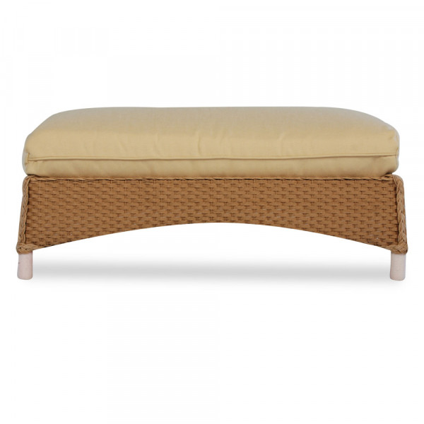 Lloyd Flanders Mandalay Large Wicker Ottoman - Replacement Cushion