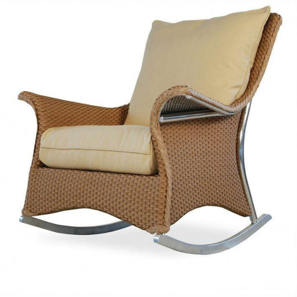 Lloyd Flanders Mandalay Wicker Rocking Chair - Replacement Cushion