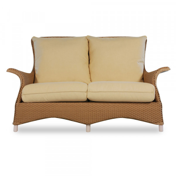 Lloyd Flanders Mandalay Wicker Loveseat - Replacement Cushion