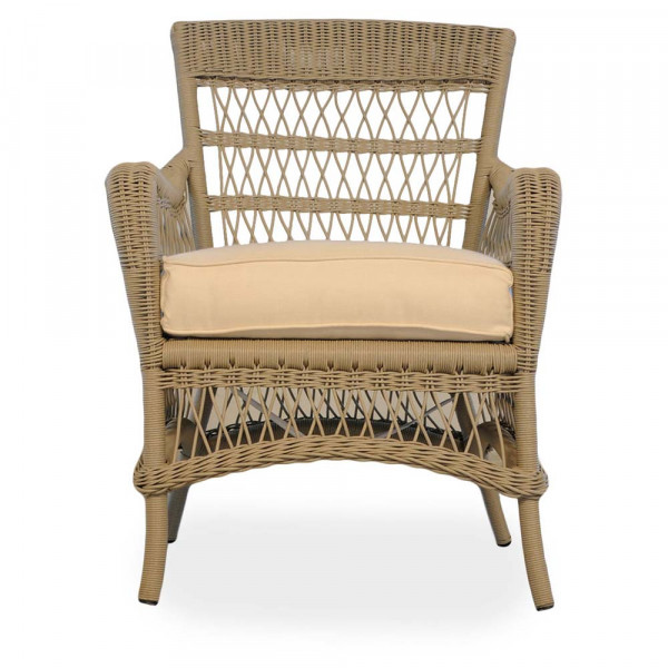 Lloyd Flanders Fairhope Wicker Dining Chair - Replacement Cushion