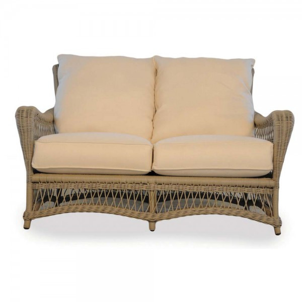 Lloyd Flanders Fairhope Wicker Loveseat - Replacement Cushion